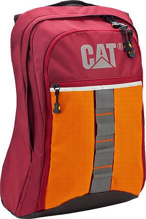 """Модный городской рюкзак с отделением для ноутбука 15.6"""" CAT 82557;148, красный, 17 л."""