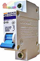 Выключатель автоматический УкрЕМ ВА-2001 1р 10А АсКо (2000000058351)