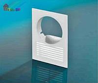 Решетка вентиляционная DOSPEL  D/14OW100 (007-0159) с кругом (2000000065243)