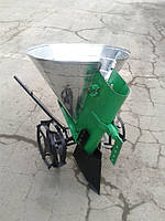 Картофелесажатель мотоблочный   КС-1МБ (с транспортировочными колесами)