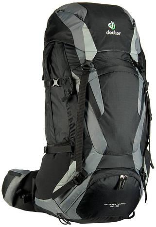 Рюкзак туристический мужской Deuter Futura Vario 50+10 black/titan (34314 7490)