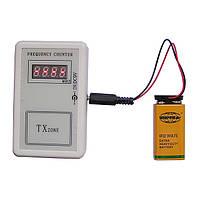 Счетчик частоты радиосигнала, частотомер 250МГц - 450МГц