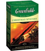 Чай Гринфилд черный с пряностями Christmas Mystery 100г листовой