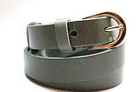 Ремень кожаный узкий  №10 20 мм