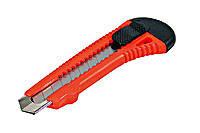 Нож прорезной с отломным лезвием, БРИГАДИР 18 мм  (2000000067551)