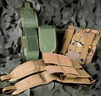 Подсумок Helikon двойной для магазинов M4/M16 - Multicam