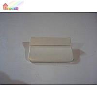 Ручка-прихват ПВХ балконная белая (2000000078762)
