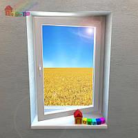 Одностворчатое поворотно-откидное окно REHAU Euro-Design 86 (2000000078076)