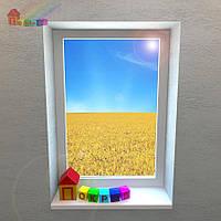 Окно глухое REHAU Euro-Design 86 (2000000078083)