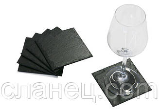 Набір для подачі з 4-х шт. 9,3*9,3 см; костери
