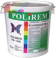 Штукатурка структурная акриловая Polirem VD-1343 (1,5 мм) камешковая 25 кг (2000000054223)
