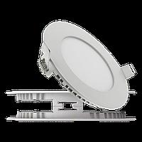 Светильник настенный LED PANEL КРУГ 18W GLASS RIM Pure White B-класс (2000000061542)
