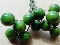 Ягодка на проволоке 6003  зелёная