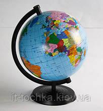 Пластиковый глобус 220 политический на украинском языке