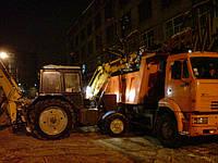 Уборка снега в Киеве, фото 1