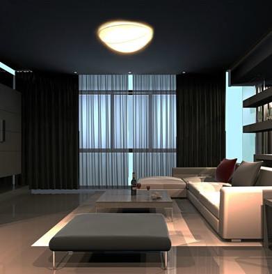 Красивая лампа как потолочная так и настенная