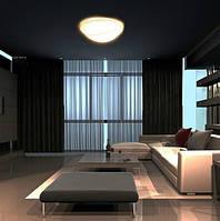 Красивая лампа как потолочная так и настенная , фото 1