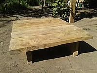 """Обеденный деревянный винтажный  стол """"Явир"""""""