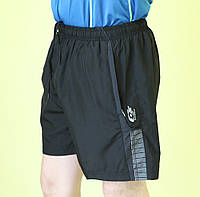 Мужские шорты Lotto (6905) черные код 01-5