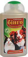 ЛОРИ Шампунь дерматологический для котов и собак Бинго 100мл