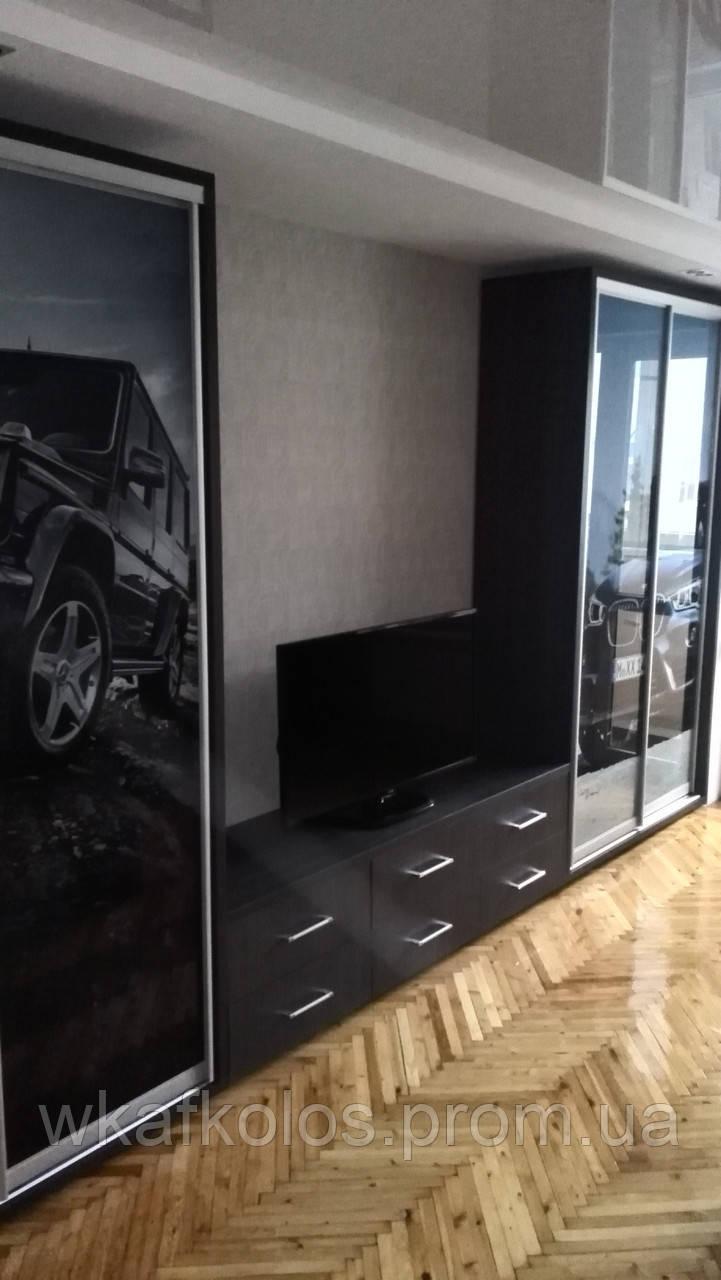 шкаф купе двери фотопечать машины продажа цена в харькове