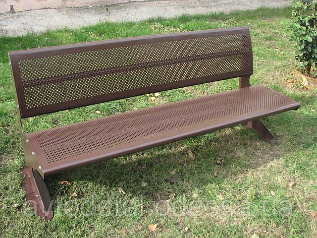 Скамейка металлическая, фото 1