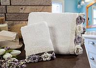 Полотенце махровое для рук Cherie Ecru 30*50.