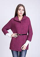 Женский кардиган рукав 3/4  3043 фиолетовый