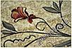 """Синтетический ковер """"Каллы""""  Lotos Karat , цвет бежевый, фото 3"""
