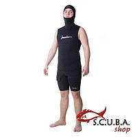 Майка для подводной охоты Open Cell + шлем 3 мм, фото 1