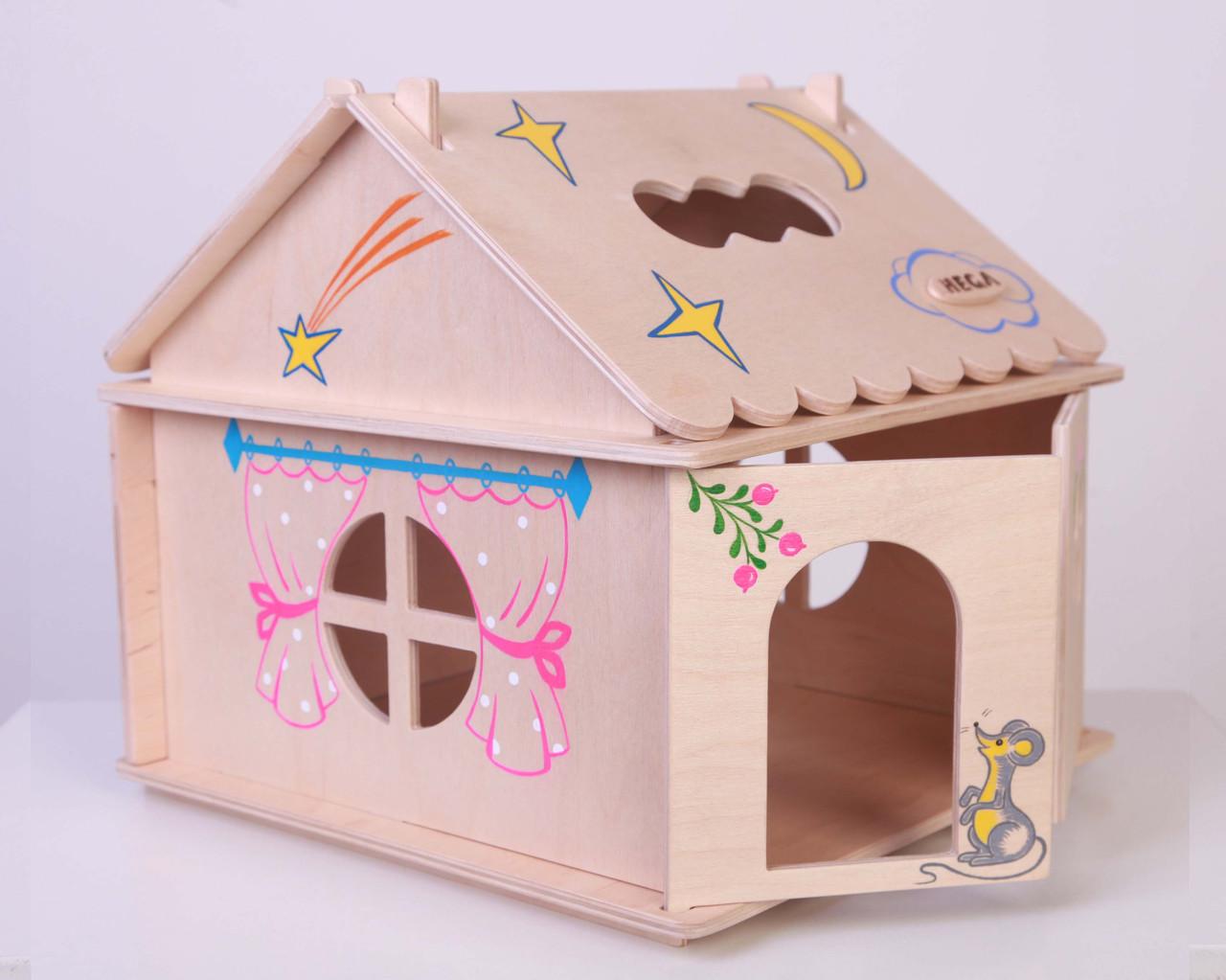 инструкция по сборке детских деревянных домиков