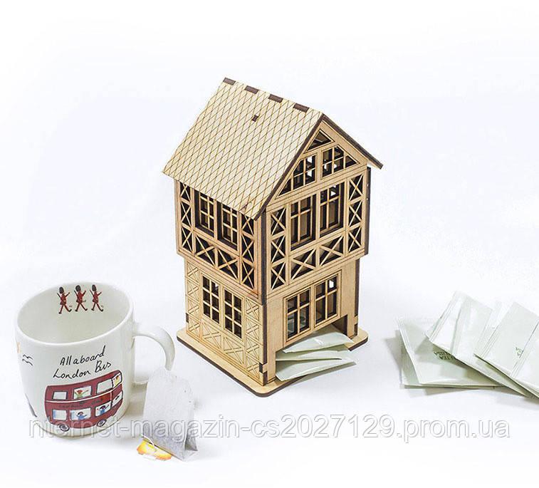 Чайный домик - коробка для чайных пакетиков