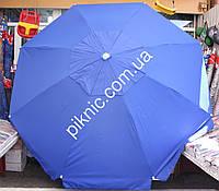 Зонт круглый, торговый, садовый 3,5м с клапаном. Усиленный. Плотная ткань. Зонт для торговли на улице!