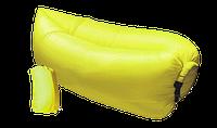 Надувной диван - гамак Lamzac желтый