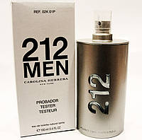 Духи Carolina Herrera 212 For Маn 100 ml (tester)(каролина херрера тестер)