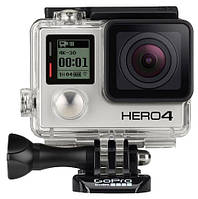 Экшн-камера GOPRO HERO4 BLACK Edition 12MP/4K/WIFI/Bluetooth/Mini USB/Mini HDMI/microSD