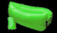 Надувной диван - гамак Lamzac зеленый