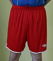 Мужские шорты Umbro 93128 красные код 01-19