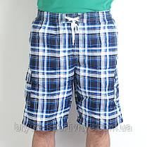 Бриджи мужские пляжные в клетку, фото 2
