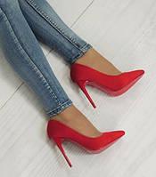 Женские туфли Scottsdale CZERWONE, фото 1