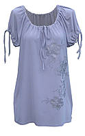 Туника для женщин лето ВЕТКА - свободный крой - короткий рукав, фото 1