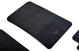 Резиновые передние коврики в салон SsangYong Rexton II 2006-2012 (STINGRAY), фото 3