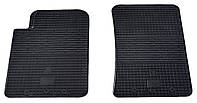 Резиновые передние коврики для SsangYong Rexton II 2006-2012 (STINGRAY)