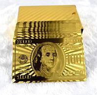 Уникальные золотые игральные карты (54шт)