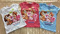Футболка для девочек Disney 98-134 р.р.