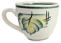 Чашка 220 мл «Одесса» рисовка осень зеленая