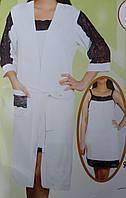 Женский халат и ночнушка