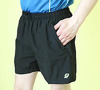 Мужские шорты Lotto (7880) черные код 01-4