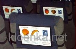 Прозрачное силиконовое покрытие на стол,  изготовления рекламных чехлов, сумок, дождевиков и др, ширина 1,37м, фото 3