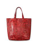 Женская кожаная сумка Дублин Croco. Разные цвета